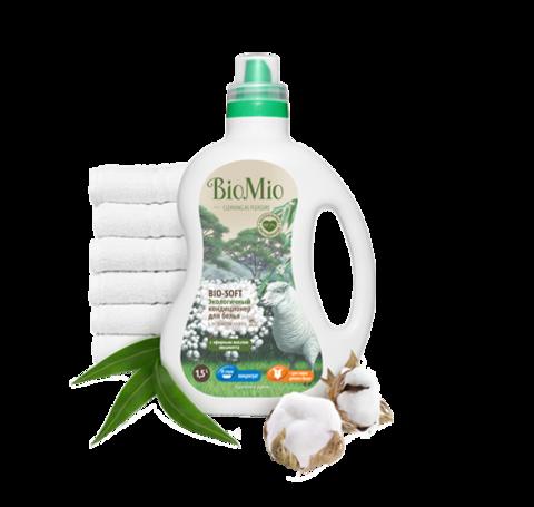 BIO MIO эко-кондиционер для белья с эфирным маслом эвкалипта 1,5 л