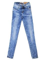GJN010441 джинсы для девочек, медиум/айс