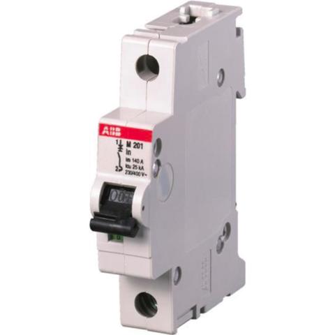 Автоматический выключатель 1-полюсный 4 A, тип  -, 12,5 кА M201 4A. ABB. 2CDA281799R0041