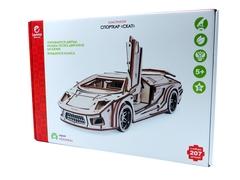 Конструктор 3D деревянный Lemmo Спорткар