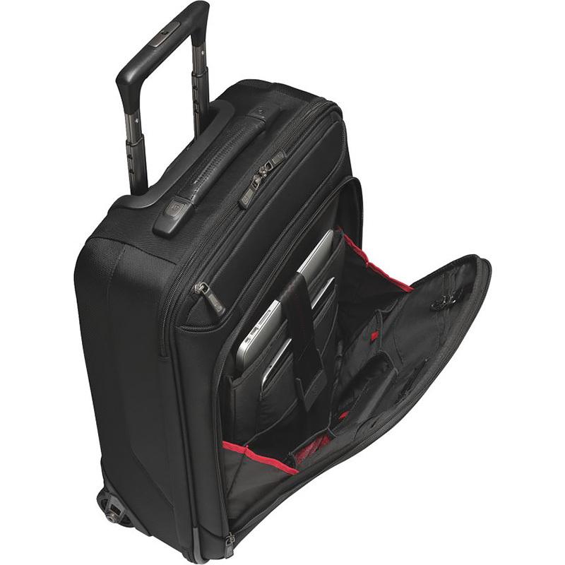 Чемодан Victorinox VX One VX 21, чёрный, 40x20x55 см, 44 л