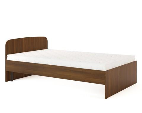 Кровать КР-02 орех тёмный