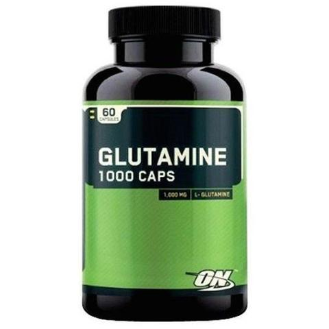 Glutamine 1000 mg, 60 caps.