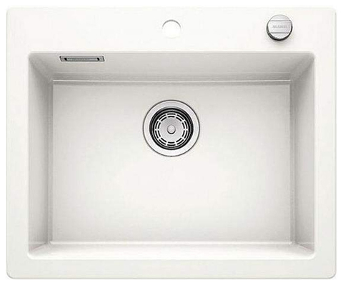 Кухонная мойка Blanco PALONA 6, керамика PuraPlus™, глянцевый белый