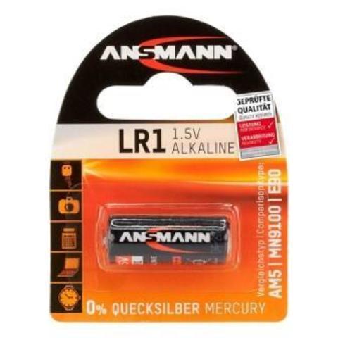 Батарейка LR1 ANSMANN 1.5V