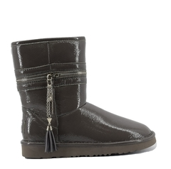 UGG Classic Short Jimmy Choo Zipper Grey