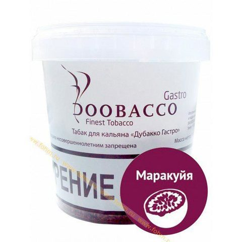 Табак для кальяна Doobacco Gastro Замес (ведро) Маракуйя