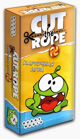 Cut The Rope. Карточная игра