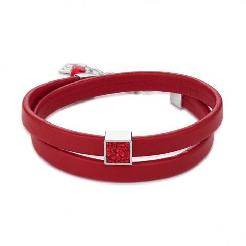 Браслет Coeur de Lion 0117/30-0300 цвет красный