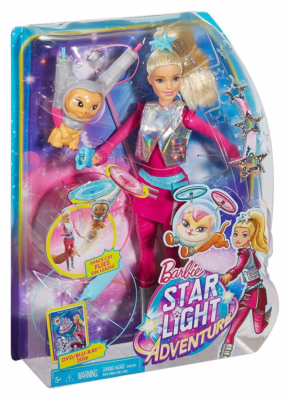 Барби Космическое Приключение Кукла с Летающим Котом ...