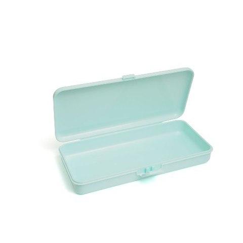 Пластиковый контейнер для хранения прямоугольный (мятный) TNL 242078