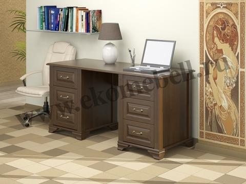 Письменный стол *Фараон* (6 ящиков)