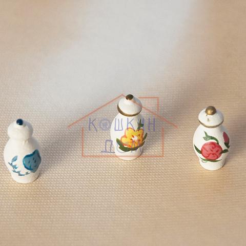 """Кукольная миниатюра Art of Mini  """"Набор кухонных баночек"""" 3 предмета"""