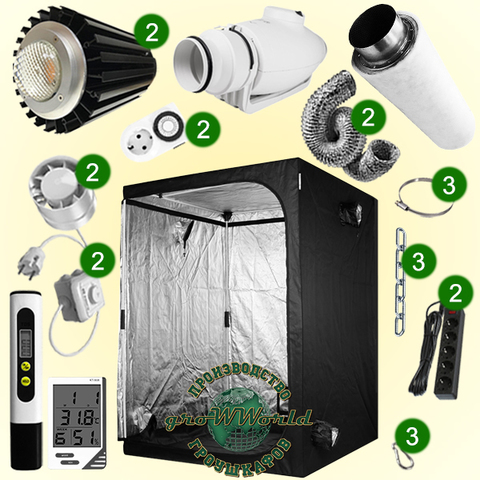 150х150х200 PROBOX LED CITIZEN 400w COB SUPERSILENT