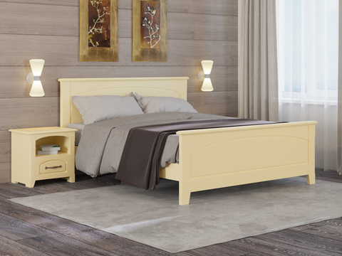 Кровать  Марсель с основанием