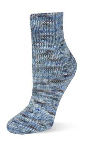 Rellana Flotte Socke Farbklexx 04