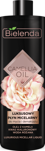 CAMELLIA OIL Эксклюзивная мицеллярная вода для умывания и демакияжа, 500 мл