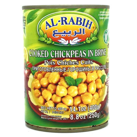 Нут консервированный, AlRabih, 400 г