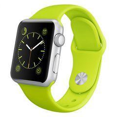 Часы смарт Apple Watch Sport 42мм (цвет зелёный)