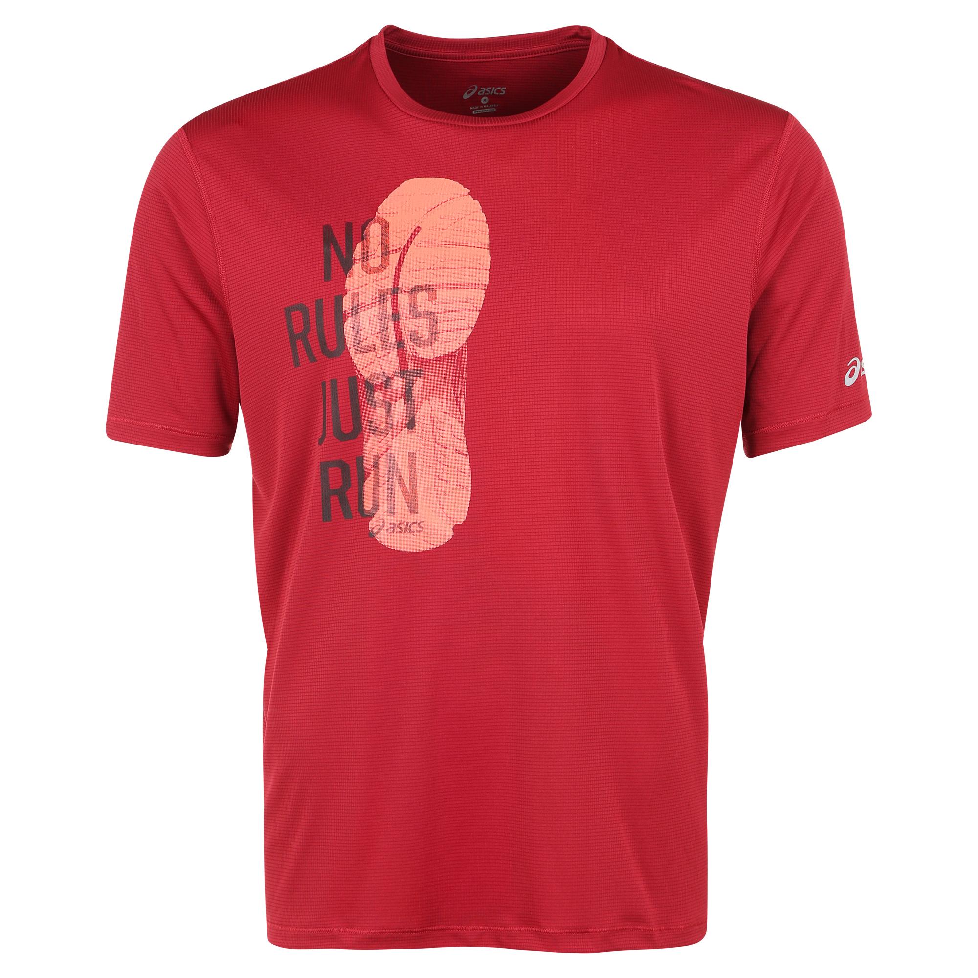 Мужская футболка Asics Graphic Top (121652 6010) wine