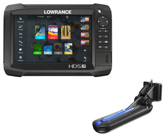Lowrance HDS-7 Carbon с датчиком Totalscan