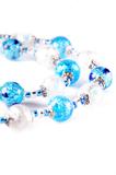Ожерелье Белла серебристо-голубого цвета (нет в наличии)