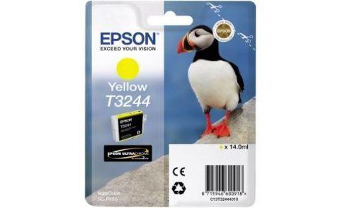 Картридж для Epson SureColor SC-P400 желтый (T3244)