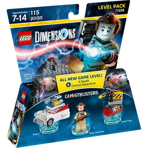 LEGO Dimensions: Level Pack: Охотники за привидениями 71228 — Ghostbusters Level Pack — Лего Измерения