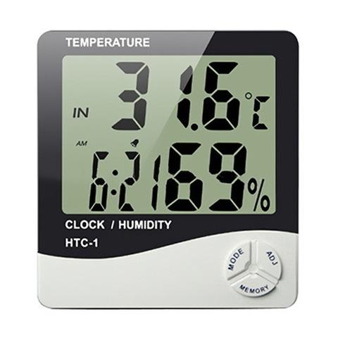 Термометр c гигрометром HTC-1