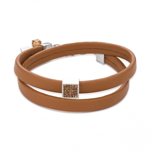 Браслет Coeur de Lion 0117/30-1120 цвет коричневый