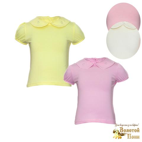 Блуза хлопок девочке (98-128) 191210-A1577