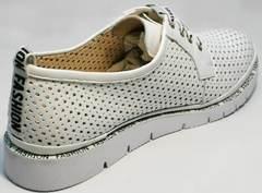 Женские летние туфли из натуральной кожи GUERO G177-63 White.