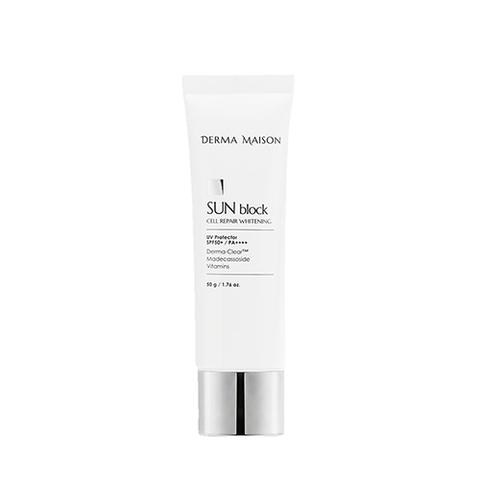 Солнцезащитный Крем MEDI-PEEL Derma Maison Sun Bloсk Cell Repair Whitening SPF50+ PA+++