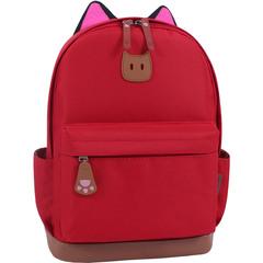Рюкзак Bagland Ears красный (0054566)