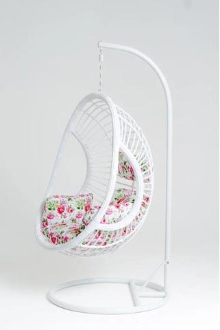 Подвесное кресло Vinotti Ornella White