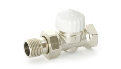 Вентиль термостатический прямой UniFitt Thermo 3/4