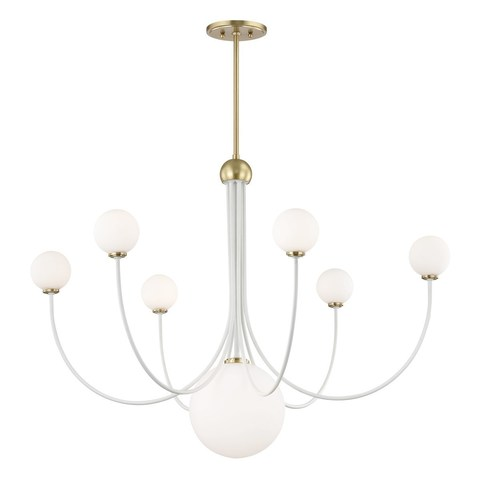 replica light   Coco d 101 см by Hudson Valley Lighting ( white )