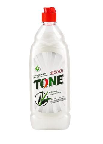 Sellwin Pro  Clean Tone Бальзам для мытья посуды Алое вера с глицерином 675мл