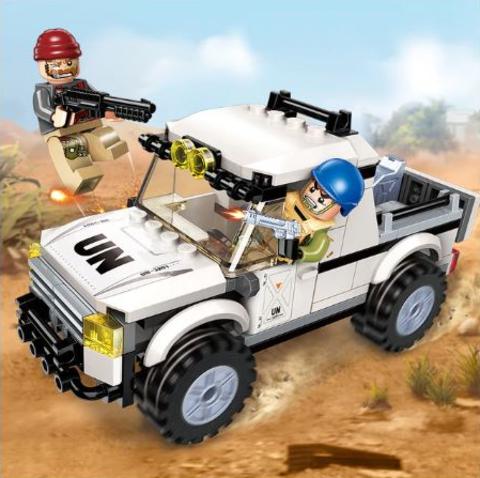 Конструктор Военная спецоперация Гром Горный автомобиль