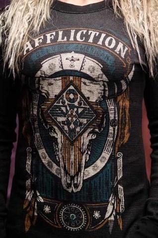 Двусторонний пуловер Land of the free  AFFLICTION