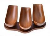 Подставка трубочная на 3 трубки, Тик, 550-623
