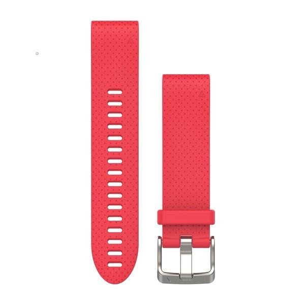 Силиконовый ремешок Garmin QuickFit 20 мм розовый