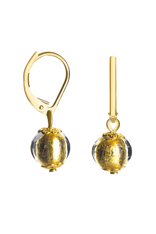 Серьги Carnevale Piccolo Oro золотистые