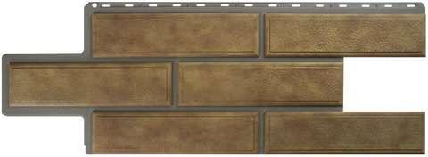 Фасадная панель Альта Профиль Камень венецианский Бежевый 1250х450 мм
