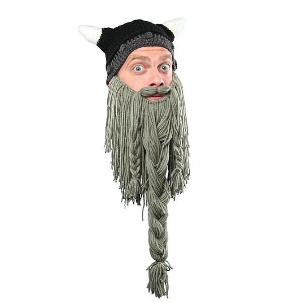 шапка с бородой Beardhead купить