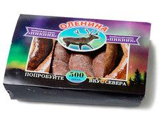 Колбаски из мяса северного оленя, 500г