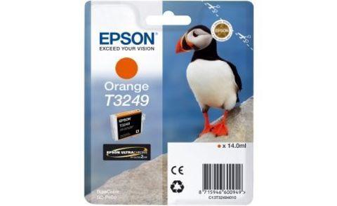 Картридж для Epson SureColor SC-P400 оранжевый для оптимизации уровня глянца (T3249)