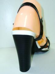 Черные босоножки женские Polani 2235-19