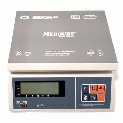 Весы настольные M-ER 326AFU-32.1 LCD/LED