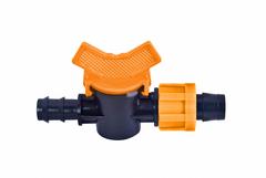 AD 6201 Кран редукционный для капельной ленты + трубка Dn16×17